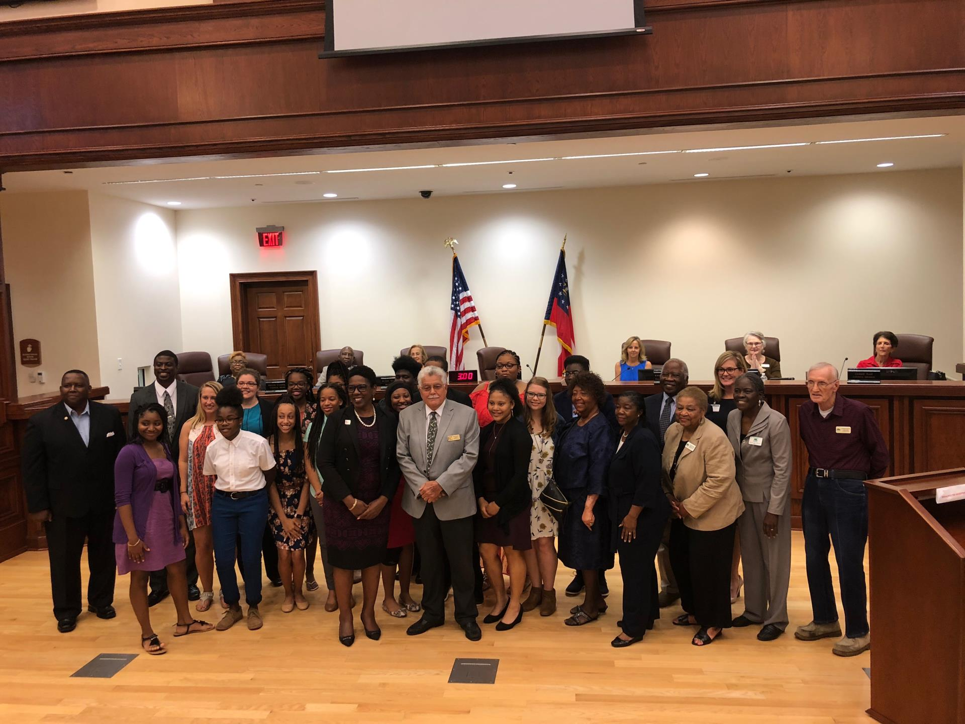Youth Council Sworn-In for 2018-2019   News   Garden City, GA