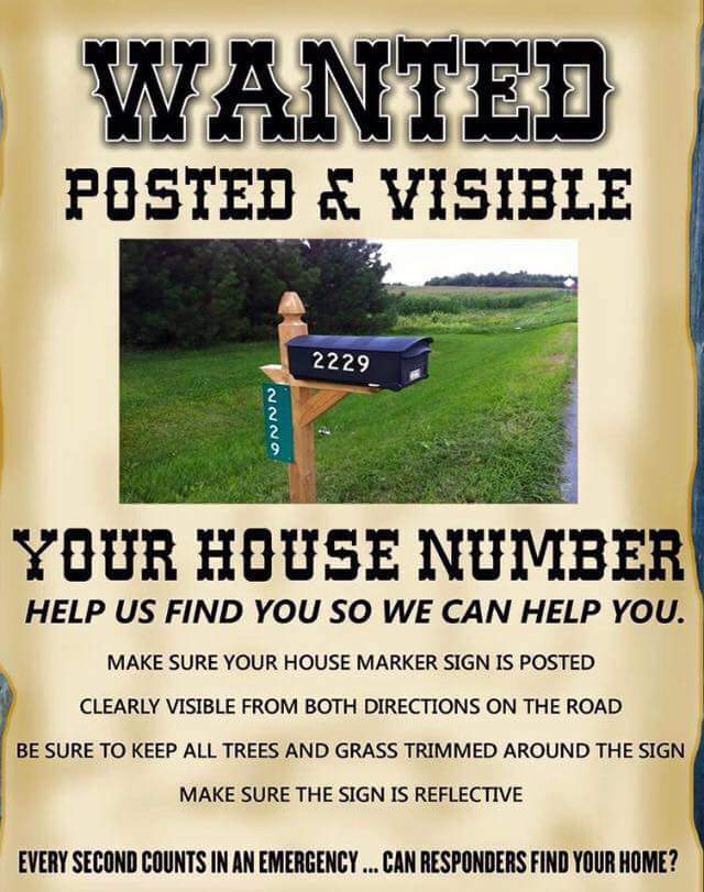 House Number Wanted