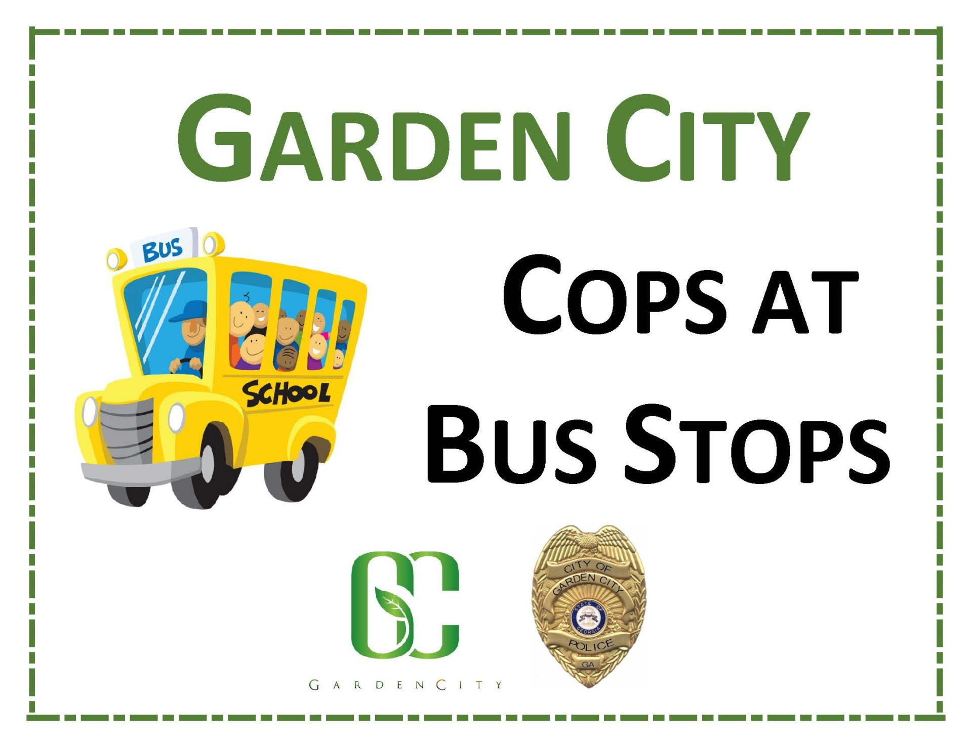 JOIN US! 1st Ever Cops at Bus Stops Event