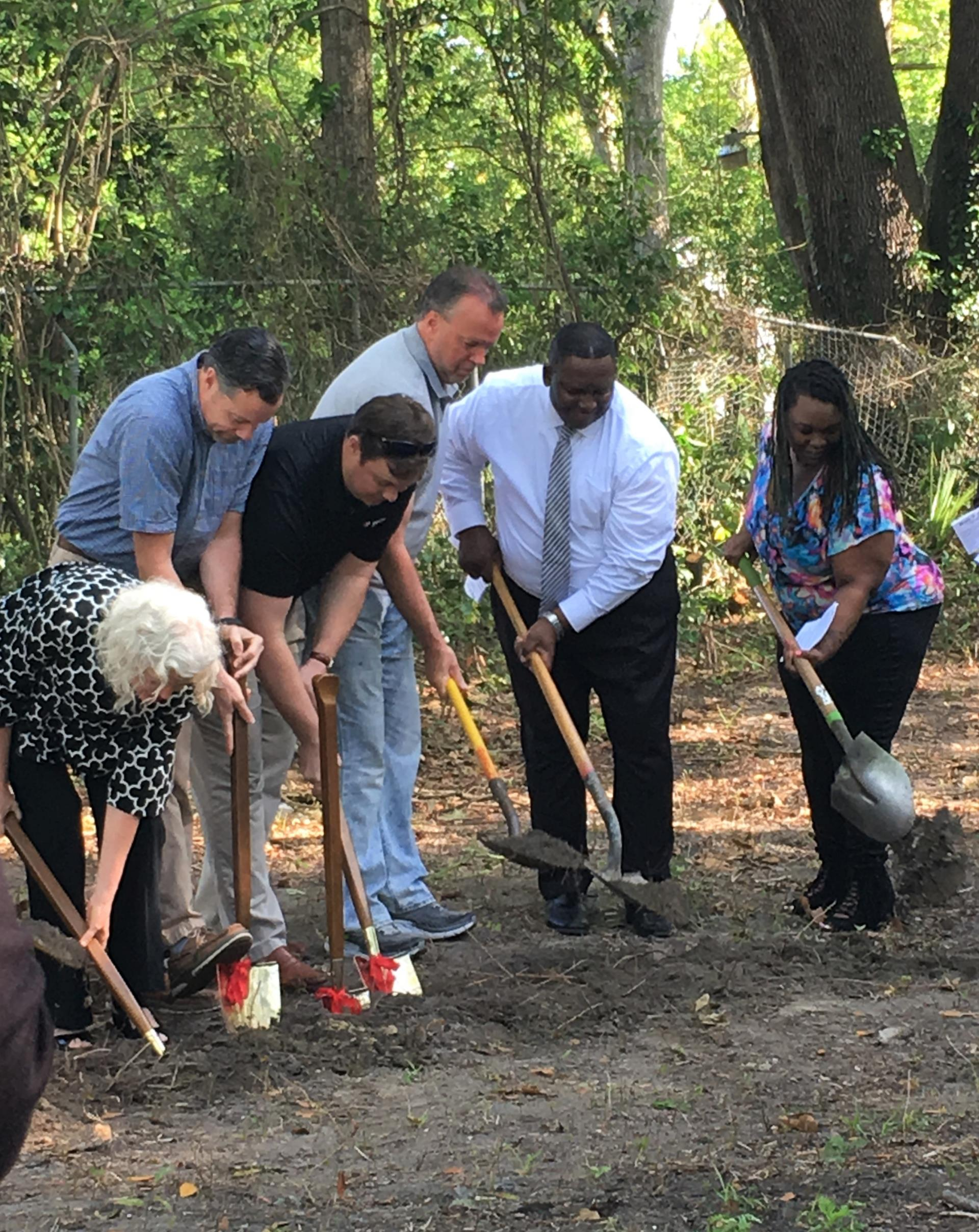 "Habitat for Humanity ""Faith Build"" Groundbreaking in Garden City"