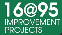 16@95 Improvement Project Construction Nears