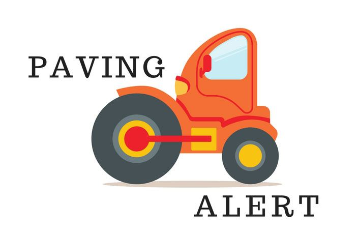 PAVING NOTICE: Paving Project Set for Pineland Drive & Leon Village