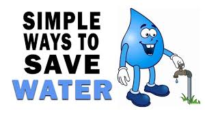 simple ways to save water clip art